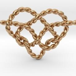 hk.jpg Download STL file Heart Knot • Model to 3D print, iagoroddop