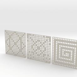 Télécharger fichier STL Dessous de verre à motifs, iagoroddop
