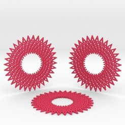 Download 3D printing templates Coasters, iagoroddop