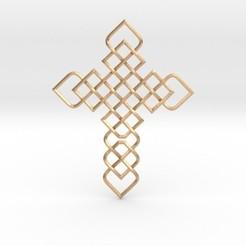 Descargar diseños 3D Knots Cross, iagoroddop