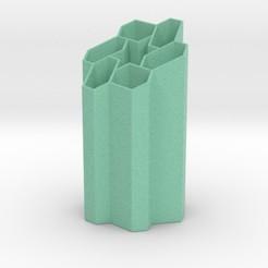 innerstar.jpg Download STL file Inner Star Penholder • 3D printer template, iagoroddop