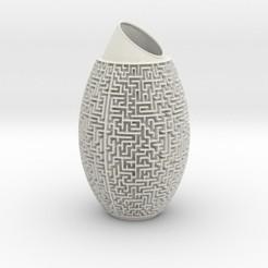 mazevase.jpg Download STL file Maze vase • 3D print model, iagoroddop