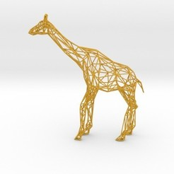 Download 3D printer templates Wire Giraffe, iagoroddop