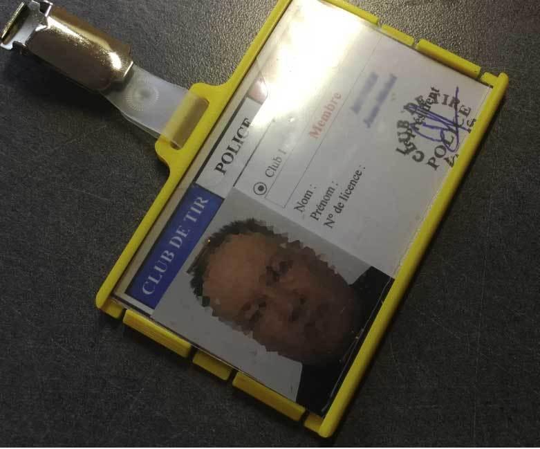 portebadge08.jpg Download STL file Security badge holder for identification cards - Secure Badgeholder for card identification • 3D printable model, jmmprog