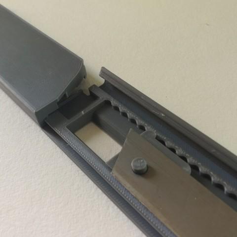 jmm_cutter11.jpg Download free STL file Cutter - retractable blade knives - Cutter Retractable Knife • 3D printer template, jmmprog
