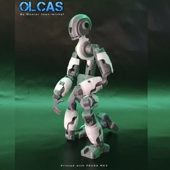 OLACAS-Cults.jpg Download free STL file Robot • 3D printable object, jmmprog