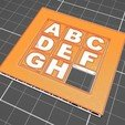 Slider puzzle09.jpg Download free STL file 3X3 sliding puzzle on two sides • 3D printer model, jmmprog