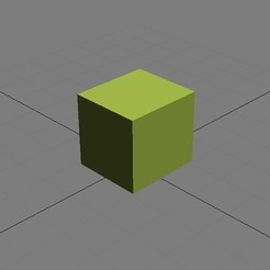 Download free 3D printing designs test cube, jmmprog