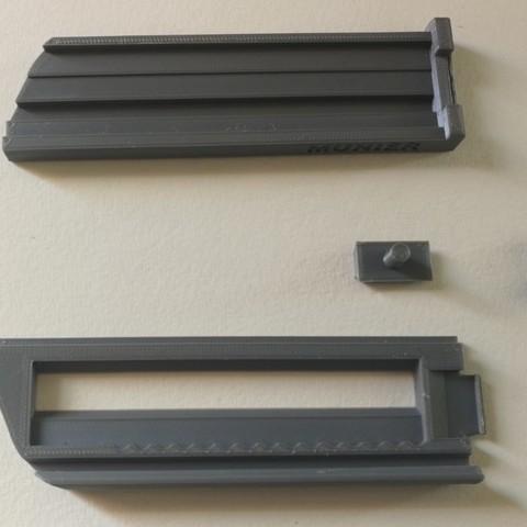 jmm_cutter03.jpg Download free STL file Cutter - retractable blade knives - Cutter Retractable Knife • 3D printer template, jmmprog