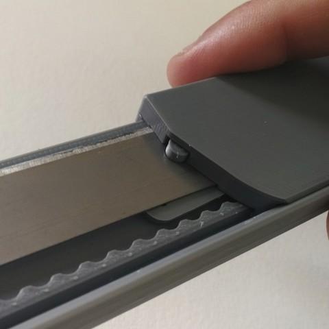 jmm_cutter13.jpg Download free STL file Cutter - retractable blade knives - Cutter Retractable Knife • 3D printer template, jmmprog