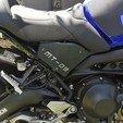 Objet 3D MT-09 CACHES LATERAUX  - Seat Side Panels Yamaha FZ-09, jmmprog