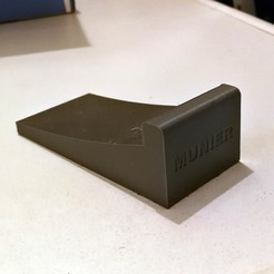 Free 3d printer designs Door block, jmmprog