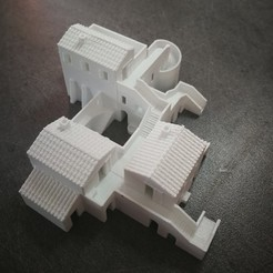 Download 3D printer designs Old village, jmmprog