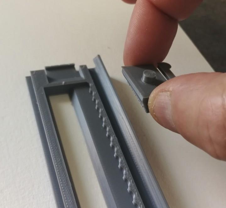 jmm_cutter07.jpg Download free STL file Cutter - retractable blade knives - Cutter Retractable Knife • 3D printer template, jmmprog