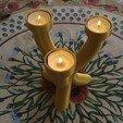 Download 3D model Decorative candle holder, tealight candle, jmmprog