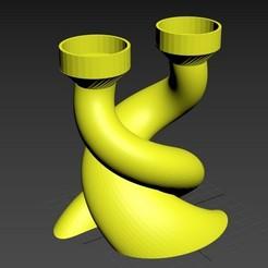 chandelier01.jpg Download STL file Chandelier - Candlestick • 3D printer model, jmmprog