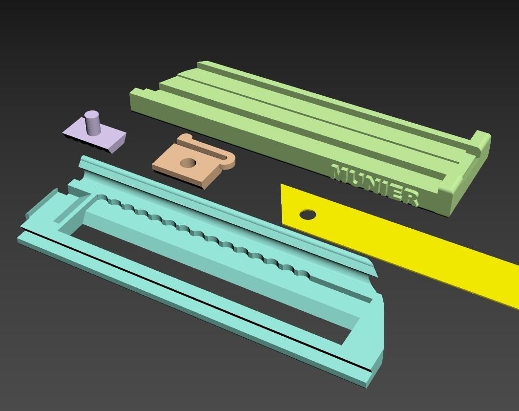SCREENSHOT002.jpg Download free STL file Cutter - retractable blade knives - Cutter Retractable Knife • 3D printer template, jmmprog