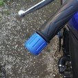Download free 3D printer templates MT-09 Protection of handlebar end cap -motorcycle handlebars cap, jmmprog
