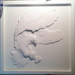 Descargar diseños 3D gratis águila 3d stl modelo de alivio, tpsimer