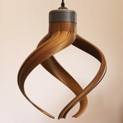 IMG_8615.JPG Download STL file Twisted Lamp • 3D printer design, YEHIA
