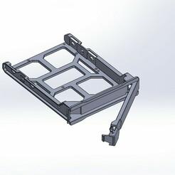 Assem1.JPG Télécharger fichier STL Tiroir de disque dur • Plan pour impression 3D, YEHIA