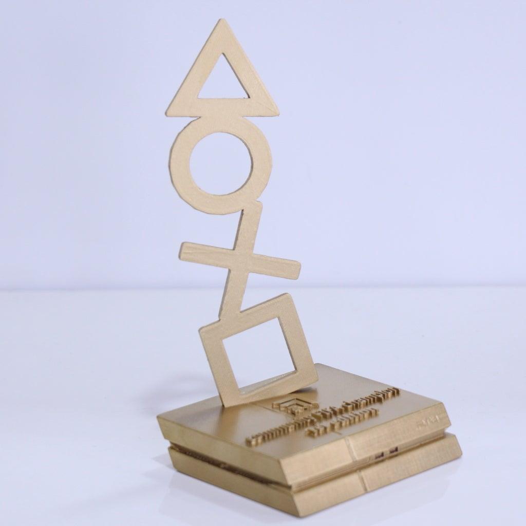 16e54e30bcc3696f37d9061f0d4792af_display_large.JPG Download free STL file PS4 trophy • 3D print design, YEHIA