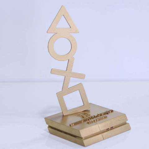 Free STL file PS4 trophy, YEHIA