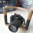IMG_20200423_182713.jpg Download free STL file Hand held Camera Rig  • 3D print object, YEHIA
