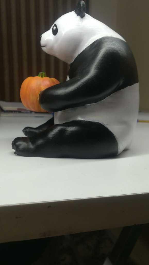 9f1f91bc4206429c8442e947340d5fc4_display_large.jpg Download free STL file the cute pumpkin panda • 3D printable object, YEHIA