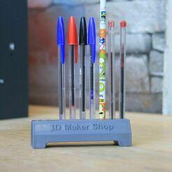 IMG_9582.JPG Download free STL file road blocks pen holder  • Design to 3D print, YEHIA