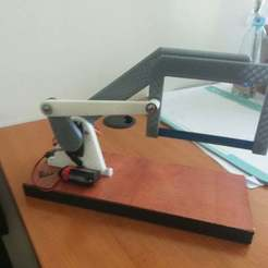 Free 3D printer designs Hacksaw mechanism, YEHIA