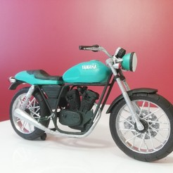 Download 3D printing templates CafeRacer SVR 250, YEHIA