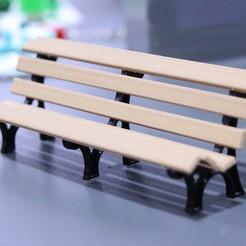 Télécharger objet 3D gratuit Banc de jardin, YEHIA