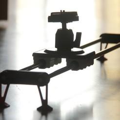 IMG_6911.JPG Download STL file Camera Slider • 3D printable design, YEHIA