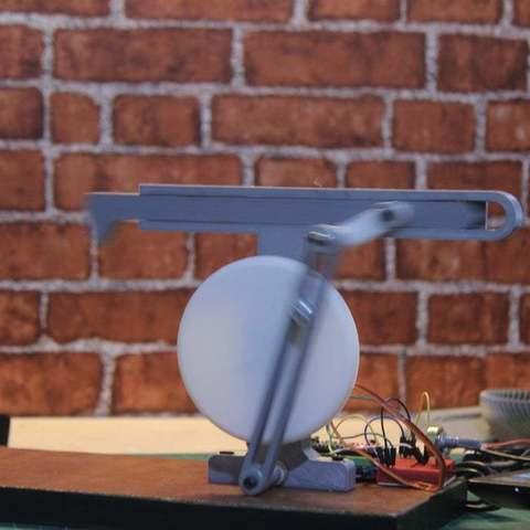Download free STL file Shaper Mechanism (quick return mechanism) • Object to 3D print, YEHIA