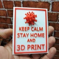 Descargar archivos 3D gratis QUEDARSE EN CASA E IMPRIMIR EN 3D, YEHIA