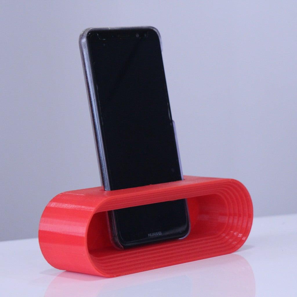 d3d61842191ab87736682166ac28813f_display_large.JPG Download STL file Phone Stand • Model to 3D print, YEHIA