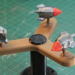 IMG_8657.JPG Download free STL file Rocket Spinner • 3D printable model, YEHIA