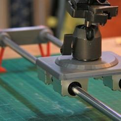IMG_6902.JPG Télécharger fichier STL gratuit Glisseur de caméra • Design à imprimer en 3D, YEHIA