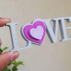 IMG_20201011_144315.jpg Download STL file Love • 3D printer design, YEHIA