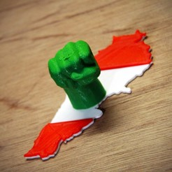 Download free 3D printer files LEBANON WILL RISE, YEHIA