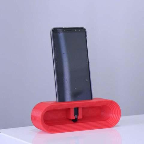 fc66e23ca00b1a3a15db429e92577005_display_large.JPG Download STL file Phone Stand • Model to 3D print, YEHIA