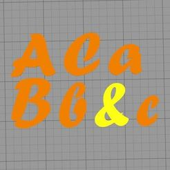 3D printer files FORTE FONT LETTER STAMP, muratsayrim