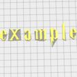 Télécharger fichier impression 3D Cachet Harry Potter Font Font Letter Stamp, muratsayrim