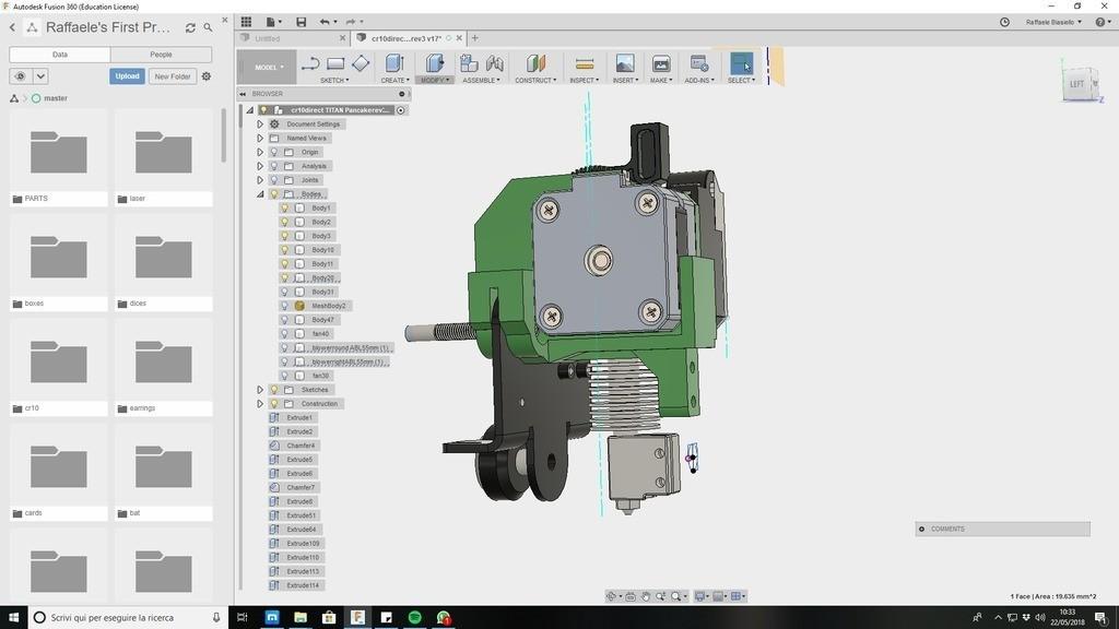 17bd2ff2f9a0afdd3e1594e60dd3abab_display_large.jpg Download free STL file CR10 direct heavy duty mod, titan + v5heatsink+volcano/ or / v6heatsink + pancake motor BETA • 3D print object, raffosan