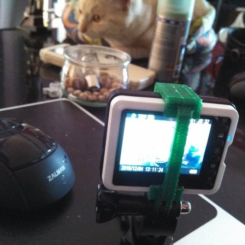 aaa2b5e0e0c4a27bbe1b03e6246a03ea_display_large.jpg Download free STL file universal support for nilox mini action cam • 3D printing design, raffosan