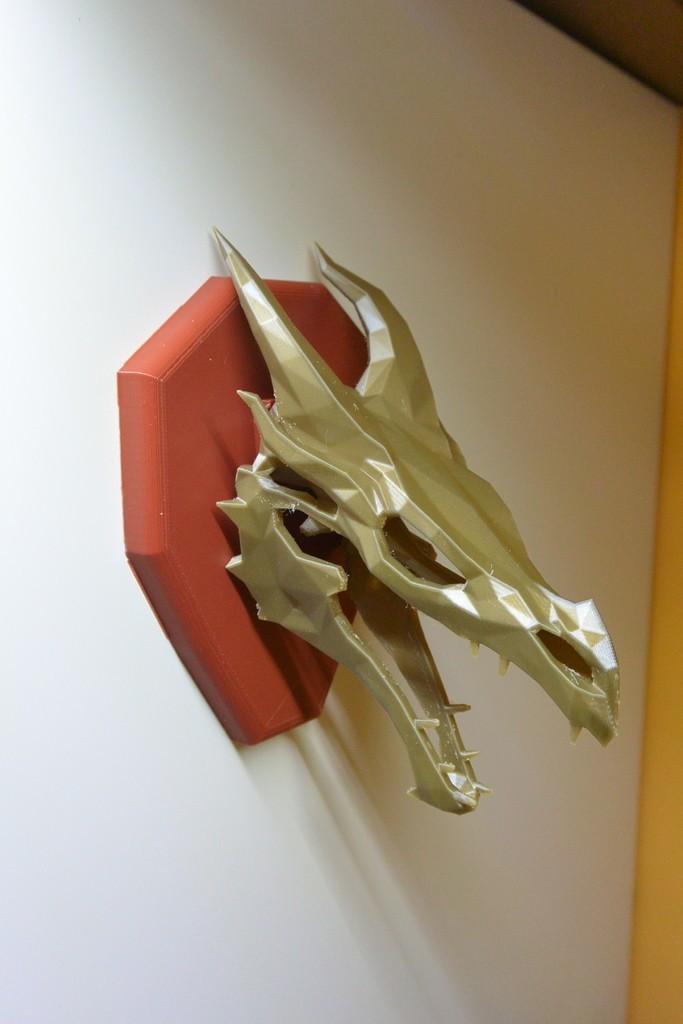 ed8543175d086efb89ce313cd8ac43b2_display_large.JPG Download free STL file Skyrim skull Dragon wall Trophy • 3D printable model, raffosan