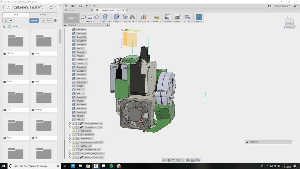 3e5d02e222b2d06b1ecd2dc0e725b321_display_large.jpg Download free STL file CR10 direct heavy duty mod, titan + v5heatsink+volcano/ or / v6heatsink + pancake motor BETA • 3D print object, raffosan