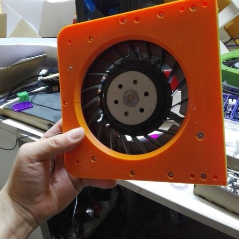 Free STL ps3 fan 3d printed blower conversion, raffosan