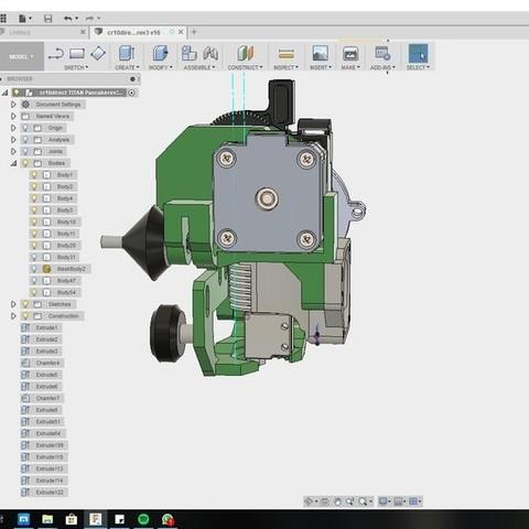 e78dff508d33cba2d276d7ff6a0352e7_display_large.jpg Download free STL file CR10 direct heavy duty mod, titan + v5heatsink+volcano/ or / v6heatsink + pancake motor BETA • 3D print object, raffosan